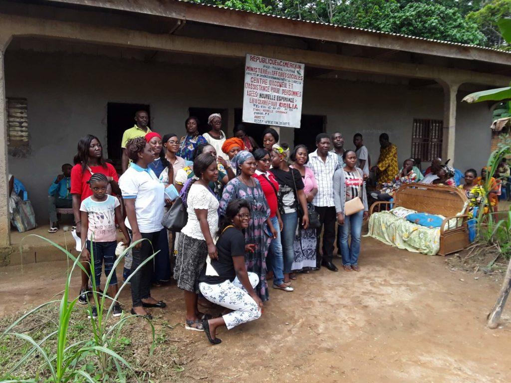 Descente Caritative chez les personnes âgées à Mfou